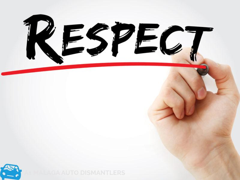 respect users
