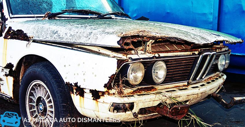 Getting rid of old cars in perth